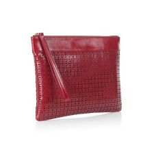Nadia Minkoff Ladies Pimlico Leather Clutch Bag - Red - BNWT - rrp: £169