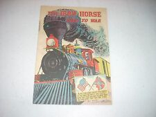 The Iron Horse Goes to War Association of American Railroads 1960 VG+ comic