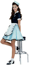 Women's Car Hop Girl Retro Adult 50's Costume