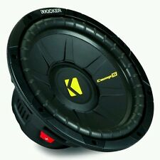 "15"" KICKER COMP-S WOOFER new CompS 1200w 1 new Kicker dealer direct !Free Ship"