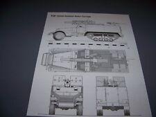 VINTAGE..T19 105MM MC & T30 75MM HOWITZER MC . .. 4-VIEWS/DETAILS..RARE! (897G)