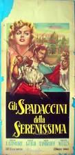 locandina 1959 GLI SPADACCINI DELLA SERENISSIMA Cagliostro-Frank Latimore-Wells