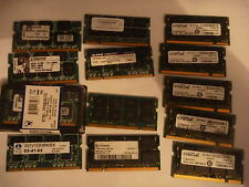 1 x 1GB DDR333 PC2700 Laptop memory RAM PC2100 PC3200 SODIMM
