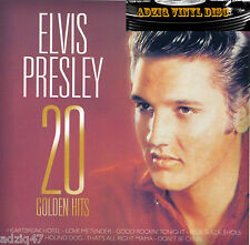 CD ELVIS PRESLEY 20 GOLDEN HITS