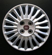 """FIAT GRANDE PUNTO 15"""" stile di un solo copriruota coprimozzo FT 729 in Rosso"""