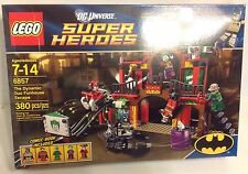 New & Retired LEGO DC Super Heroes Set 6857 The Dynamic Duo Funhouse Escape