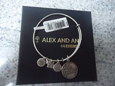 Alex and Ani TODAY IS AN OPPORTUNITY  Russian Silver  Bangle  W/ Tag Card & Box