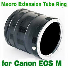Macro Extension Adapter Tube Ring for Canon EOS M mount EF-M mirrorless camera