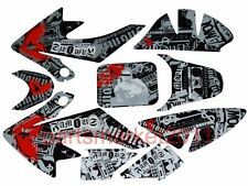 3M Decals Graphics Thumpstar SSR SDG DHZ Stomp Stickers CRF50 bike Honda CRF 50