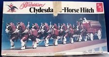 AMT BUDWEISER 8 HORSE HITCH MODEL KIT 1/20 SCALE SEALED PARTS NEVER USED #7702