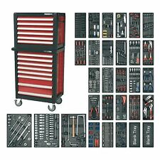 Sealey topchest/ROLLCAB combinazione 14 Cassetto & 1233pc Tool Kit-apttc 02