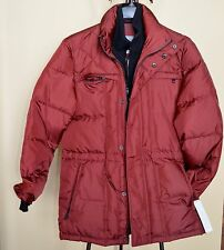MARC NEW YORK ANDREW MARC Down Puffer Coat Burgundy Sz.M NWT WOW! $330