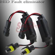 2x HID ECM Error Warning Cancellers Capacitors Anti-Flicker for HID Xenon Lamp