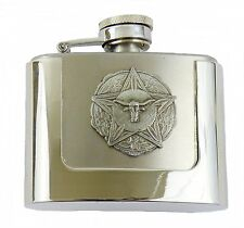 Belt Buckle with Hip Flask Longhorn Lone Star Texas