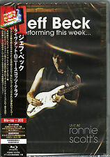 JEFF BECK-LIVE AT RONNIE SCOTT`S-JAPAN BLU-RAY+ 2 CD Ltd/Ed S69