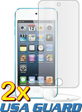 2x Clear LCD Screen Protector Guard Shield Cover Film Apple iPod Touch 5 5th Gen
