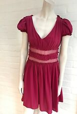JOHN GALLIANO SILK DRESS I 40 UK 8 US 4 S SMALL