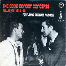 "Eddie Condon Concerts featuring Pee Wee Russell 1944 LP 12""33rpm vinyl record(g)"