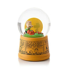 Hallmark Magic 2013 Great Pumpkin Waterglobe - Peanuts Gang - Lights Up #HGN5116