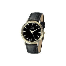 Gents Limit Gold Plated Strap Watch Model No - 5554