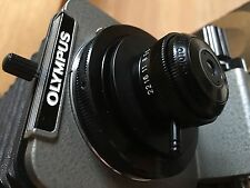 Olympus OM kit for Bellows +PM-Mtob +20mm f3.5 RMS MacroPhoto Lens (10:1) +Extra