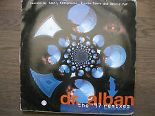 """DR. ALBAN~THE '97 REMIXES~EURO HOUSE TRANCE 2 x 12"""" LP *MADE IN THE EU*"""