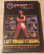 DVD Last Women Standing, UFC, Pride, K-1, Bellator, King Of The Cage