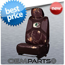 1X NEW MOSSY OAK UNIVERSAL SEAT COVER CAMOUFLAGE CAMO BUCKET TRUCK SUV CAR 2016