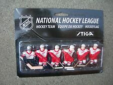 NHL  Detroit Red Wings Table Top Hockey Players Game Pack...Stiga...New!
