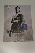 "Tim Hoogland signed autograph 6""x4"" photo Schalke 04"