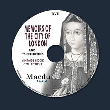 Memoirs of the city of London and its celebrities – 3 e-Books PDF on 1 DATA DVD