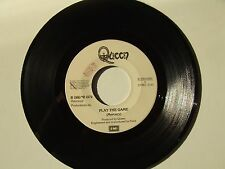 "Queen ‎/ Play The Game – Disco Vinile 45 Giri 7"" Stampa Italia 1980 No Cover"