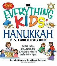 The Everything Kids' Hanukkah Puzzle & Activity Book: Games, crafts, trivia, son