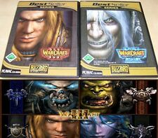 Warcraft III Reign of Chaos PC juego y Warcraft III Frozen Throne m. manuales
