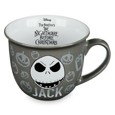 NEW DISNEY STORE CHARACTER JACK SKELLINGTON MUG NIGHTMARE BEFORE XMAS CUP