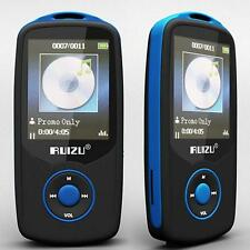 "Ruizu 1.8"" TFT Bluetooth MP3 Player TF card 4G storage Built in FM Radio Blue SR"