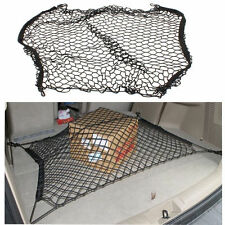 Black Car Rear Cargo Organizer Storage Elastic Mesh Net Holder 4 Hooks Gorgeous