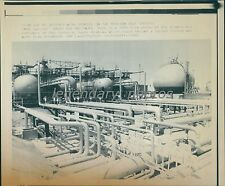 1990 Saudi Aramco Oil Refinery Possible Iraqi Target Original Laserphoto