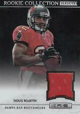 2012 R&S Rookie Collection Jerseys #1 Doug Martin Buccaneers Red Perf Jersey