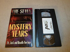 Tested The Seven Mystery Years VHS Dr. Jack & Rexella Van Impe God Inspirational