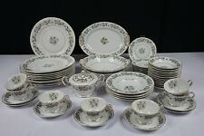53 PCS NORITAKE LAURETTE # 5047 CHINA SET