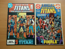 DC: TALES OF THE TEEN TITANS #44 + MORE, 1ST NIGHTWING/JERICHO, 1984, NM- (9.2)!