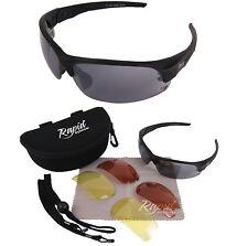 Schwarz FLIEGERBRILLE UV400 Aviation Sonnenbrille Für Piloten mit Wechselgläser