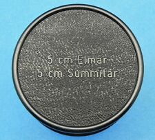 Leica Black Bakelite Case for SM 5cm Elmar,Summitar  #1