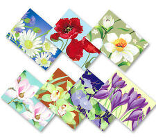 NEW Russian/Orthodox Easter Egg Shrinking Wraps/Stickers/Sleeves, Spring Flowers