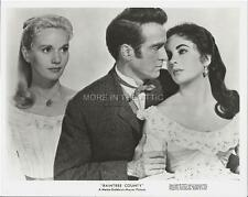 MONTGOMERY MONTY CLIFT LIZ ELIZABETH TAYLOR RAINTREE COUNTY MGM FILM STILL #11