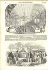 1852 Netherlands Land Enclosure Company Hanswerk Casino Paganini Banquet