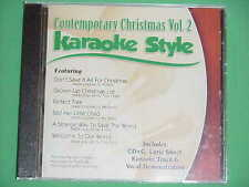 Contemporary Christmas~#2~Daywind~Karaoke Style~~~Welcome to Our World~~CD+G~New