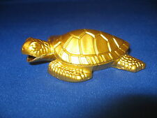 Cool Tortoise Turtle Shaped Butane Lighter Brass Color USA Stocked And Shipped