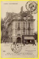 cpa 75 - PARIS 13 Place du PONT NEUF HÔTEL PARTICULIER Café Maison ROCHER